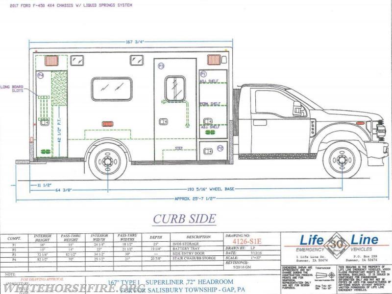amb491 2 white horse fire company