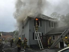 Newport Avenue Dwelling Fire (Chris Kennedy photo)